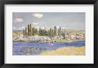 Framed Vetheuil, 1880