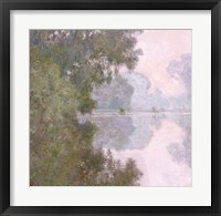 Framed Morning on the Seine, near Giverny, 1896