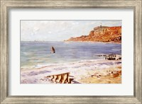 Framed Seascape at Sainte-Adresse