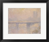 Framed Charing Cross Bridge, 1899