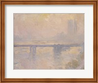Framed Charing Cross Bridge, 1899
