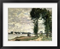 Framed Banks of the Seine at Argenteuil, 1872