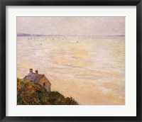 Framed Hut at Trouville, Low Tide, 1881