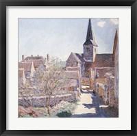 Framed Bennecourt, 1885