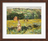Framed Limetz Meadow, 1887