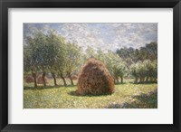 Framed Haystacks at Giverny, 1893