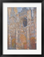 Framed Rouen Cathedral, Facade, 1894