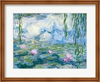 Framed Waterlilies, 1916-19