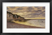Framed Pointe De Lailly, Maree Basse, 1882
