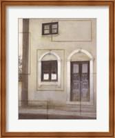 Framed Italian Courtyard 1