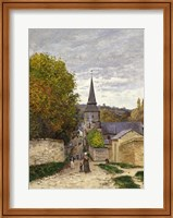 Framed Street in Sainte-Adresse, 1868-70
