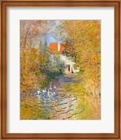 Framed Duck Pond, 1874