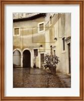 Framed Italian Courtyard 2