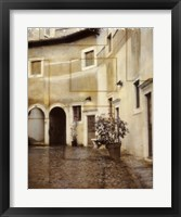 Framed Italian Courtyard 2