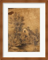 Framed La Lezarde shores, 1856