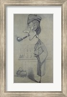 Framed Scotsman with a Pipe, 1857