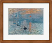 Framed Impression: Sunrise, 1872