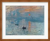Framed Impression: Sunrise, 1872