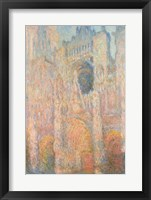 Framed Rouen Cathedral, 1891