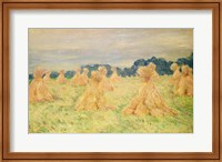 Framed Small Haystacks, 1887