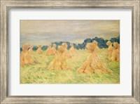 Framed Small Haystacks, 1887