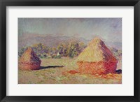 Framed Two Haystacks, 1891