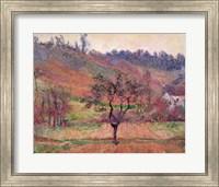 Framed Valley of Falaise, Calvados, France, 1883