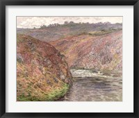 Framed View of the River Creuse on a cloudy day, 1889
