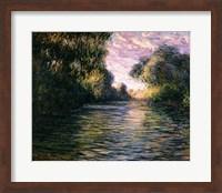 Framed Morning on the Seine, 1897