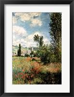 Framed Path through the Poppies, Ile Saint-Martin, Vetheuil, 1880