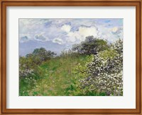 Framed Spring, 1875