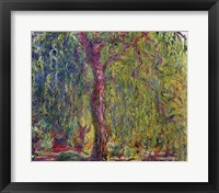 Framed Weeping Willow, 1918-19