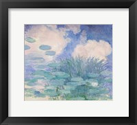 Framed Waterlilies, 1914-17 reflection