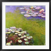 Framed Waterlilies, Harmony in Blue, 1914-17