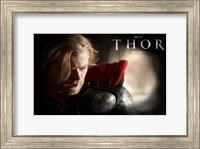 Framed Thor  Chris Hemsworth