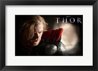 Framed Thor  Chris Hemsworth
