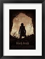 Framed Black Death