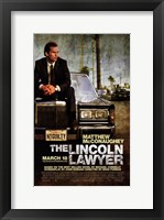 Framed Lincoln Lawyer
