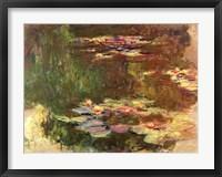 Framed Lily Pond, c.1917