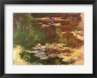 Framed Lily Pond, c.1917