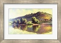 Framed Seine at Port-Villez, 1883