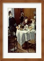 Framed Breakfast, 1868