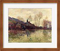 Framed Floods at Giverny, 1886