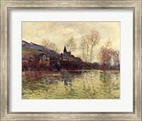 Framed Floods at Giverny, 1886