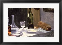 Framed Still Life with Bottles, 1859