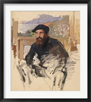 Framed Self Portrait in his Atelier, c.1884