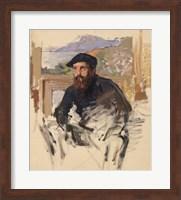 Framed Self Portrait in his Atelier, c.1884