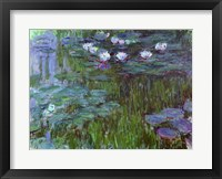 Framed Waterlilies, 1914-17
