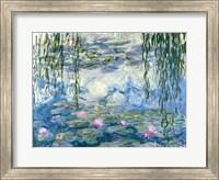 Framed Waterlilies, 1916-19