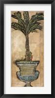 Framed Potted Palm IV